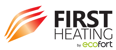 first heating by ecofort logo