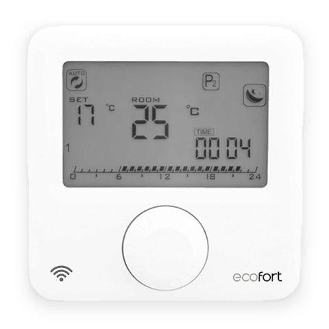 ecoheat fernsteuerbarer Thermostat mit WiFi